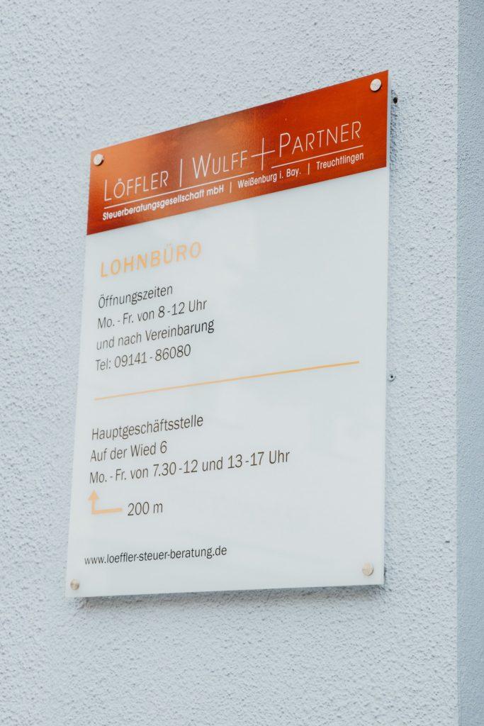 Löffler | Wulff + Partner Steuerberatungsgesellschaft Weißenburg Lohnbüro