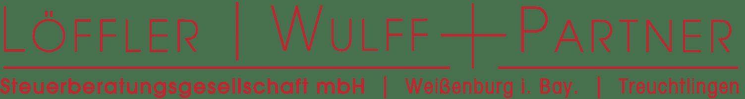 Loeffler Wulff Partner 2019 Logo Steuerberatung Weißenburg Treuchtlingen
